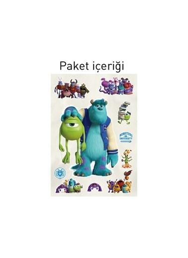 Disney Monsters University 48X68 Cm Duvar Sticker Renkli
